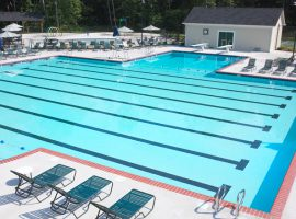 commercial swimming pool