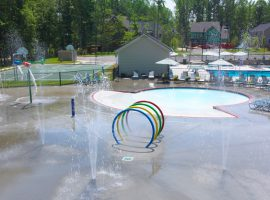 Water Feature - Splash Pad - Homeowners Association - Community - Chesterfield, VA