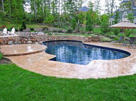 Residential - Vinyl Liner - Freeform - Water Feature - Fire Pit - Chesterfield,VA