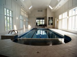Residential - Spa - Geometric - Spa- Rectangle Pool - Indoor - Goochland,VA